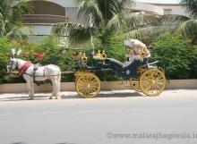 VINTAGE VICTORIA BAGI by Malataj Bagiwala Gujarat