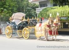 VINTAGE VICTORIA BAGI by Malataj Bagiwala India